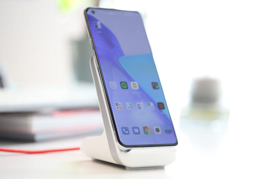 OnePlus 9 Pro charge sans fil