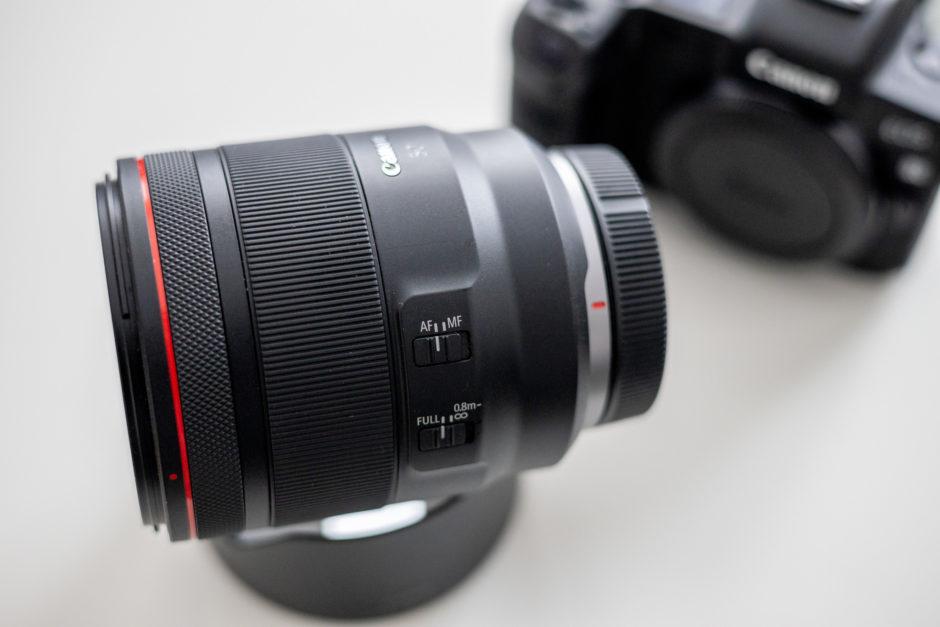 Canon RF 50 mm f/1,2 L USM
