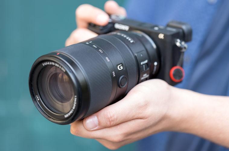 Sony E 70-350 mm f/4,5-6,3 G OSS
