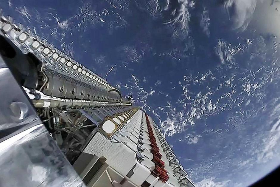 Satellites Starlink Astrophoto