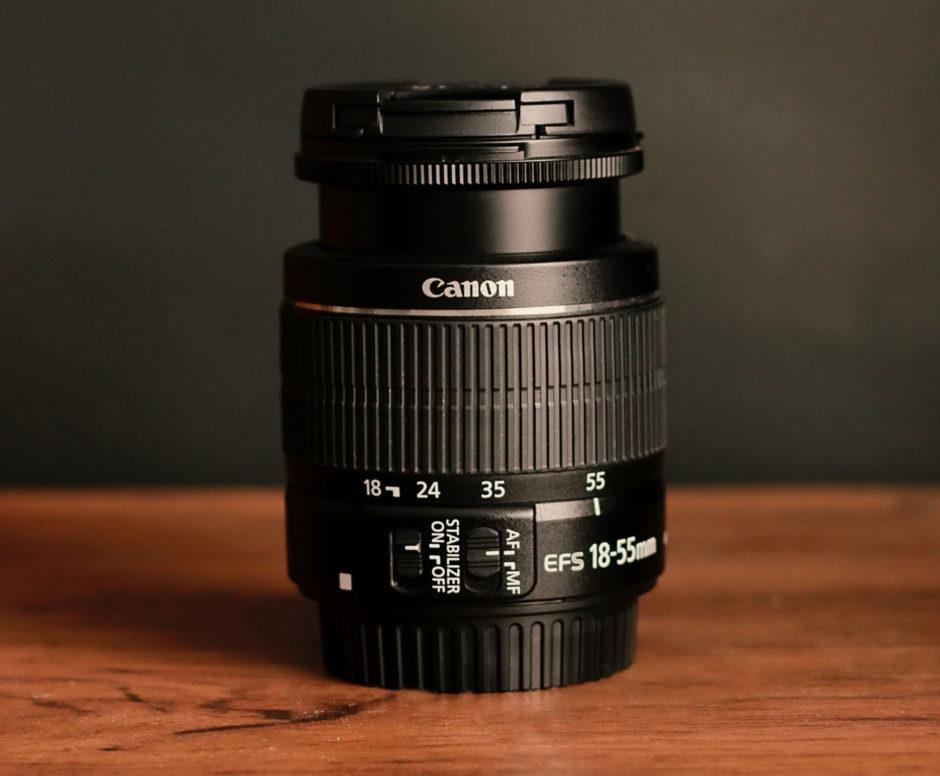 objectif kit lens canon
