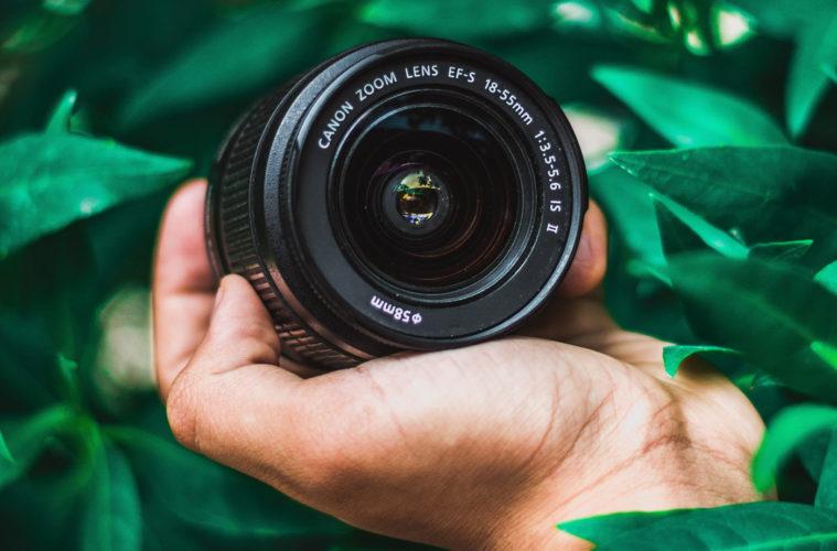 objectif de kit photo