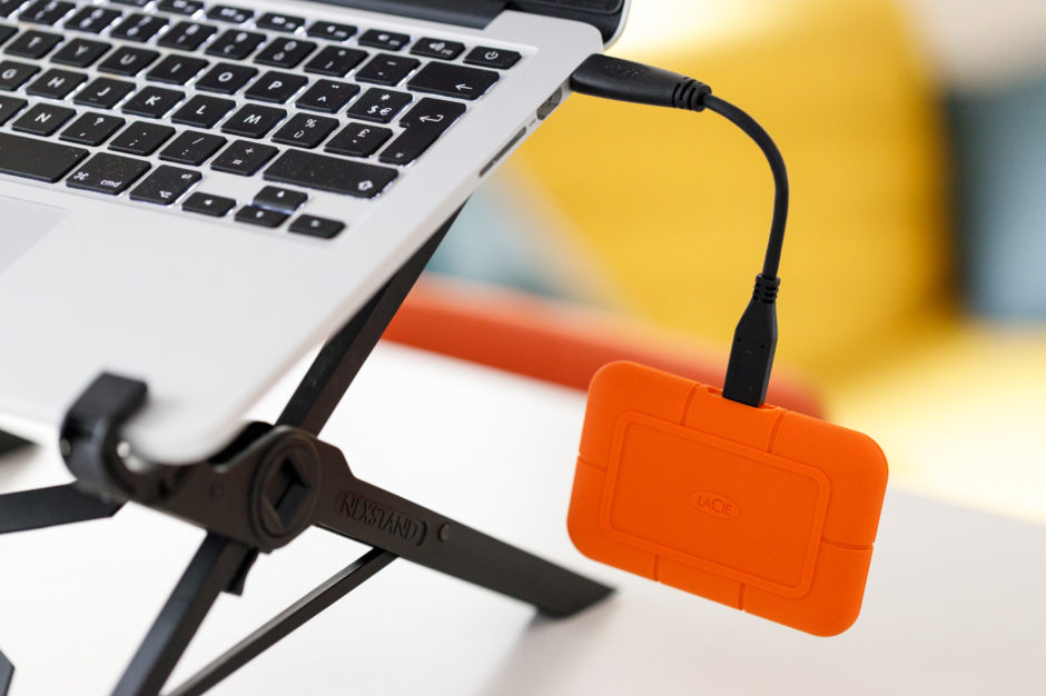 LaCie Rugged SSD : cable trop court