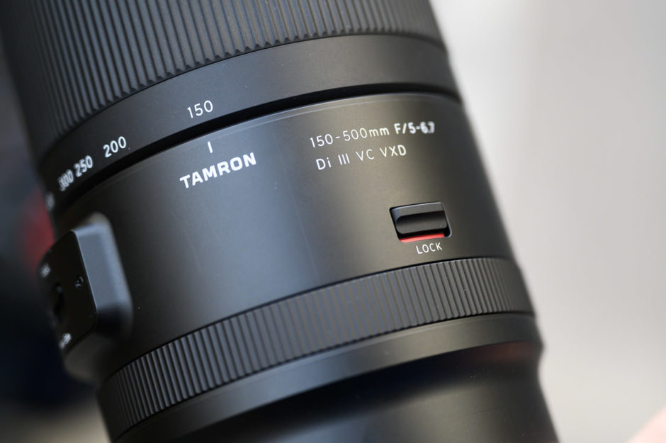 Test Tamron 150-500 mm f/5-6,7 Di III VC VXD