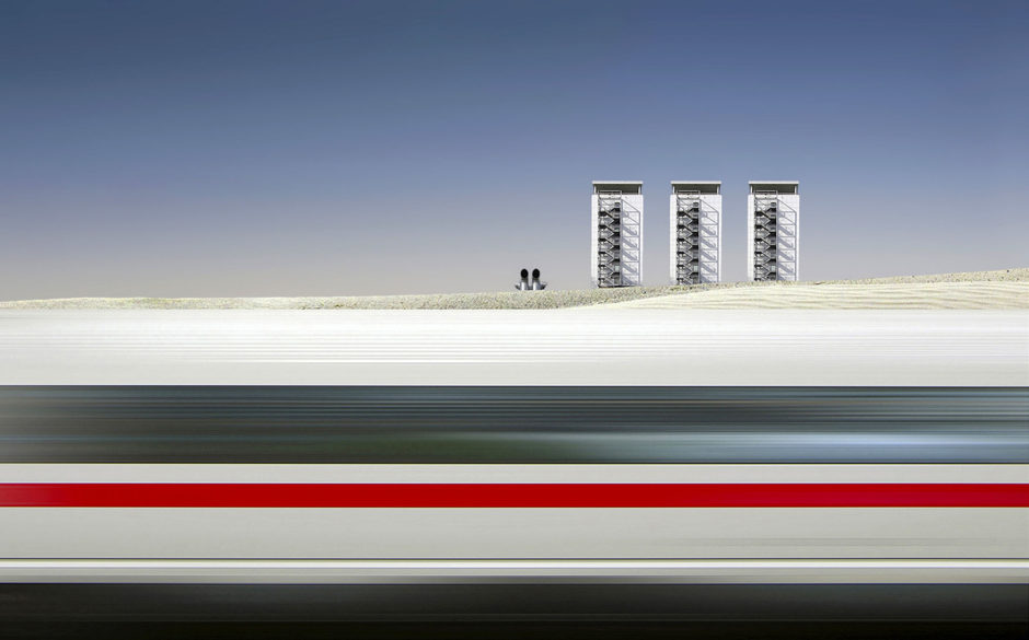 ICE Train by Cor Boers, CEWE Photo Award, Category winner Architecture & Technology