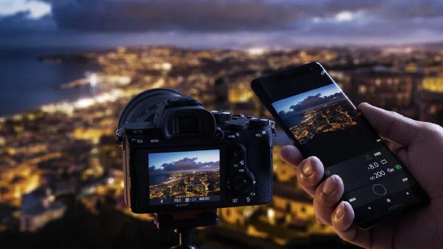 Sony envoyer photo boîtier vers smartphone