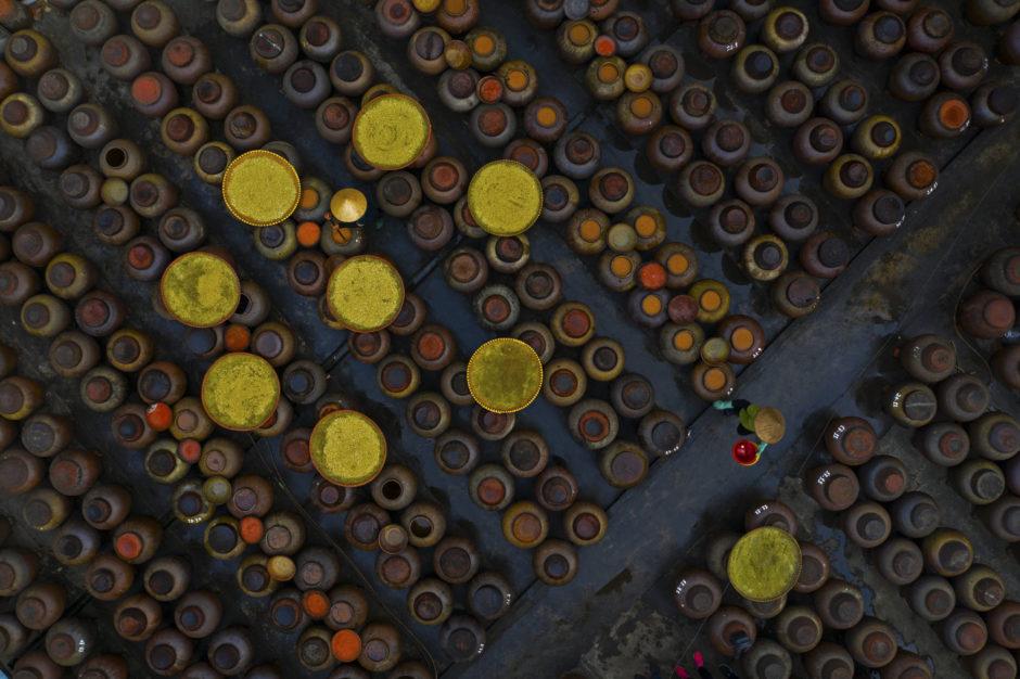 Soy sauce making by Azim Khan Ronnie, CEWE Photo Award, Category winner Aerial Photos
