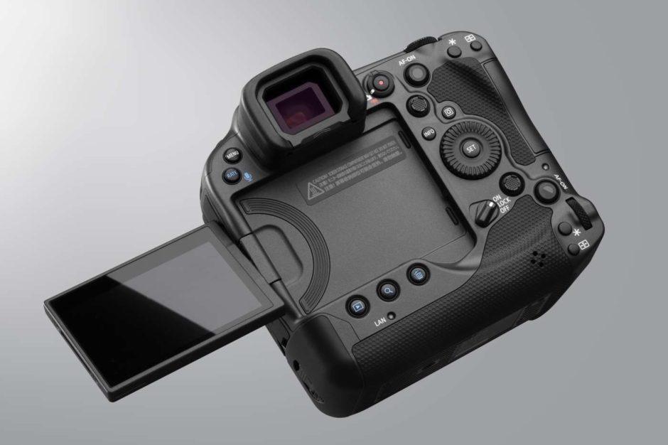 Canon EOS R3 écran