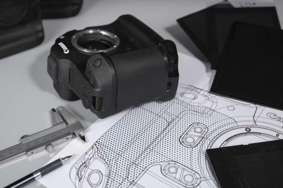 Canon EOS R3 design