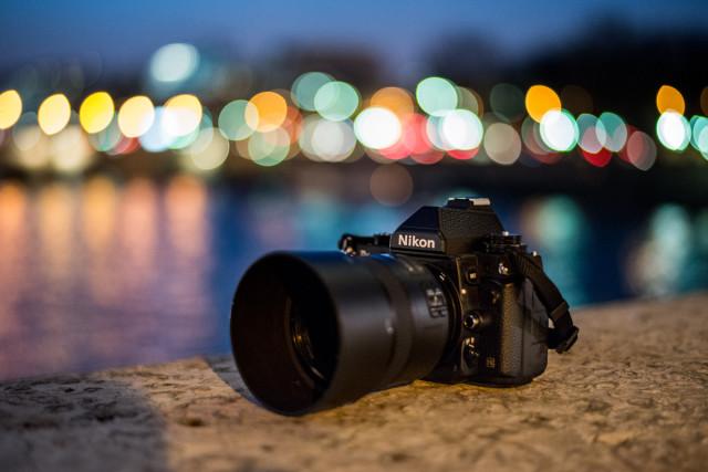 Nikon Df de nuit