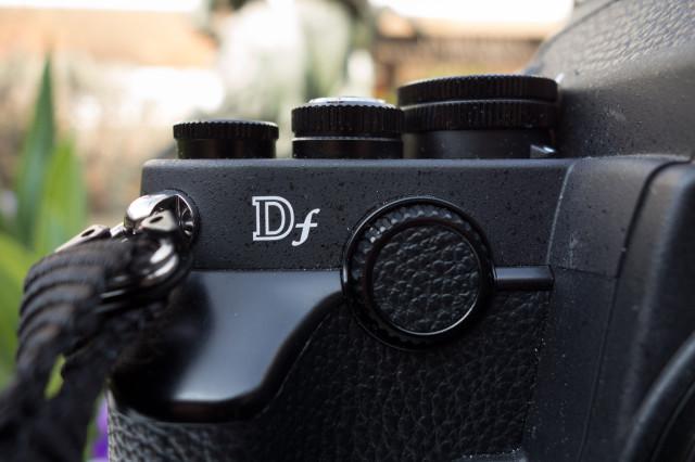 Nikon Df molette